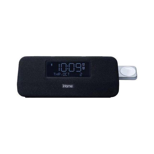 iHome - Bluetooth Alarm Clock Radio - Black