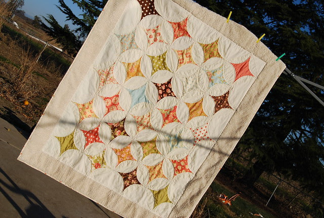 Breakfast at Tiffany's finished quilt