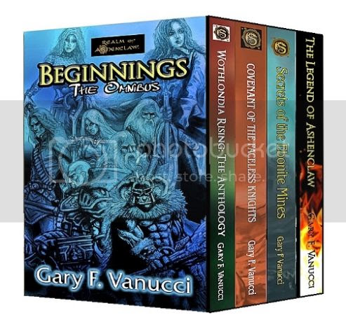 Author Gary F. Vanucci chats about dragons, elves, and the walking dead....