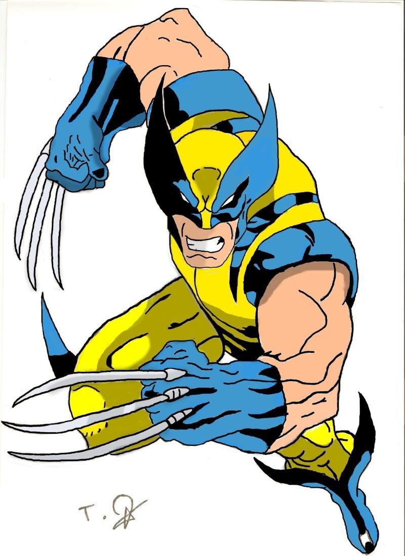 Meilleur De Coloriage De Wolverine A Imprimer   Imprimer ...