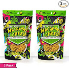 Hemp Extract, Macaroni and Cheese with Hatch Green Chile, Cheddar, and Garlic by FishSki Provisions (2 x 6oz Packs, 170 G Each, 12 oz Total)