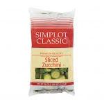 Simplot Classic Crinkle Cut Sliced Zucchini (32 Oz, 12 Per Case)