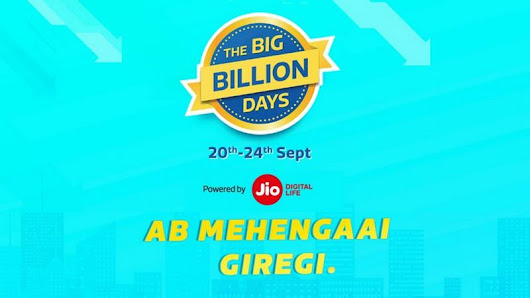Flipkart Big Billion Days Sale: Big discounts on Smartphones and Laptops