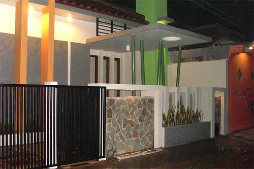 Pagar Rumah Minimalis Type 45 | Contoh-Contoh Arsitek