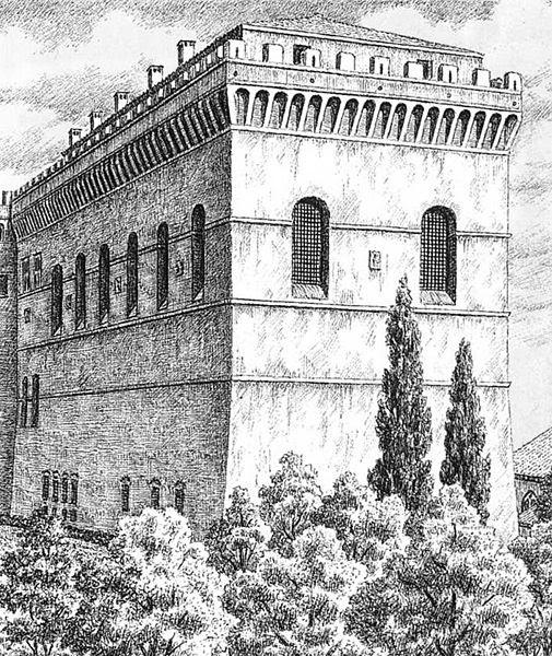 File:Cappella sistina, aspetto originario, stampa del XIX secolo.jpg