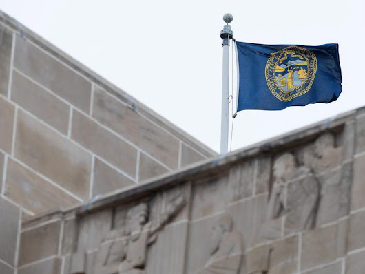 Nebraska flag flew upside down at Capitol for 10 days and 'nobody noticed,' says senator who wants design change | Legislature |