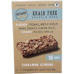 Autumns Gold Granola Bars, Grain Free, Cinnamon Almond - 16 pack, 1.24 oz bars