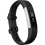 Fitbit Alta HR - Activity Tracker with Heart Rate Monitor - Small - Black