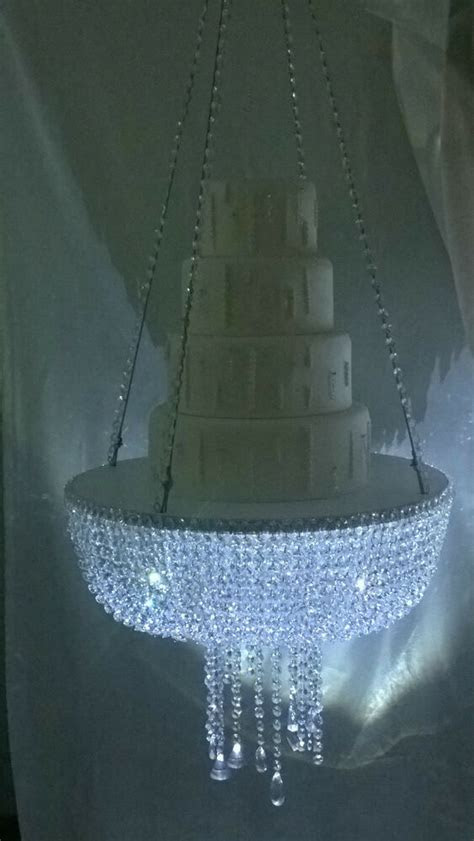 Stunning sparkling Crystal Chandelier suspended swing