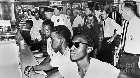 Image result for civil rights lunch counter