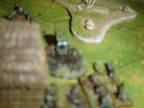 Americans secure right flank - Battle for Middle Village