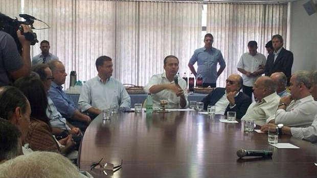 Ex-governador conversou com pecuaristas do Triângulo Mineiro (Divulgação)