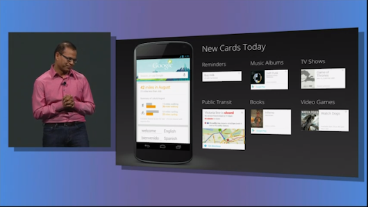 Google Now Gets Reminders, Public Transportation Cards, and More