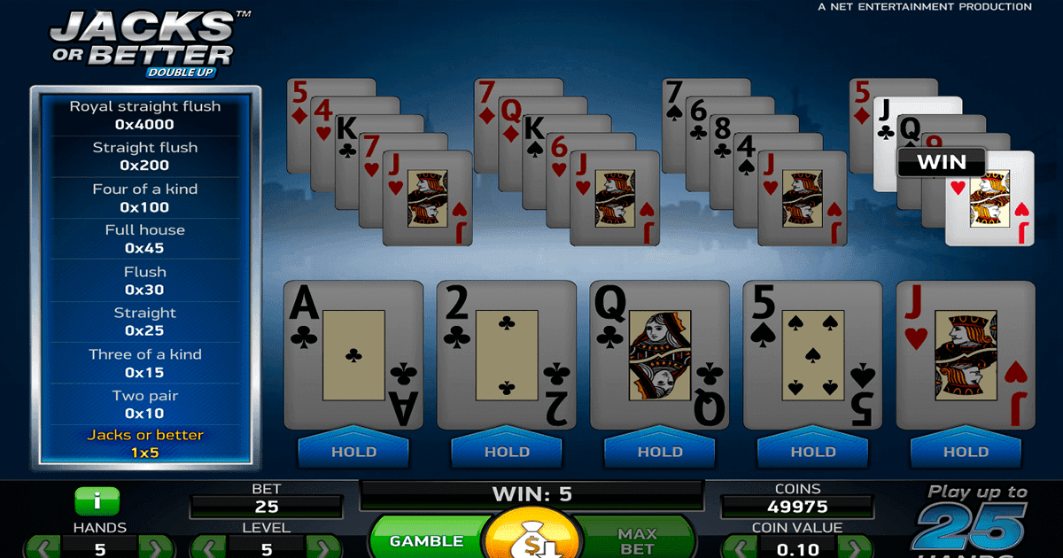 Video Poker Spielen