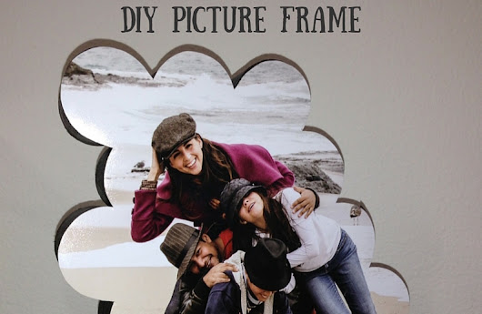 You Won't Believe This: DIY Picture Frame Made From Toilet Paper Tubes - The Green Divas