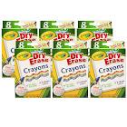 (6 Bx) Crayola Dry Erase Crayons 8ct Per Bx Washable