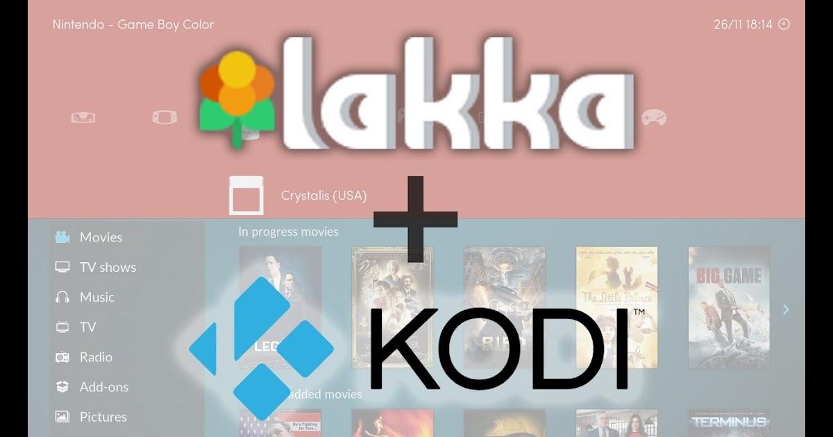 Lakka & KODI Dual Boot for Raspberry Pi