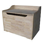 Intenational Concepts TC-929 Storage box Unfiinished