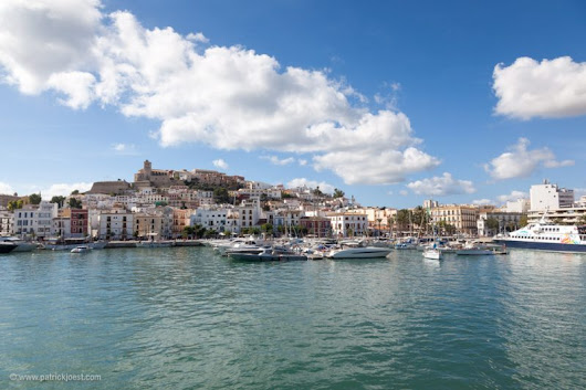 Ibiza Town view from seaside - Patrick Jöst Photography