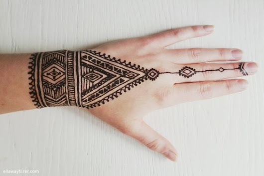 20 tribal-inspired mehandi designs that will blow your mind