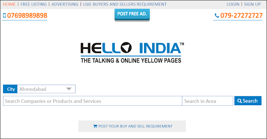 Free Add Post on Hello India