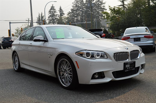 2014 BMW 5 Series ActiveHybrid 5 - RARE ! Used for sale in Surrey at Cwl Auto