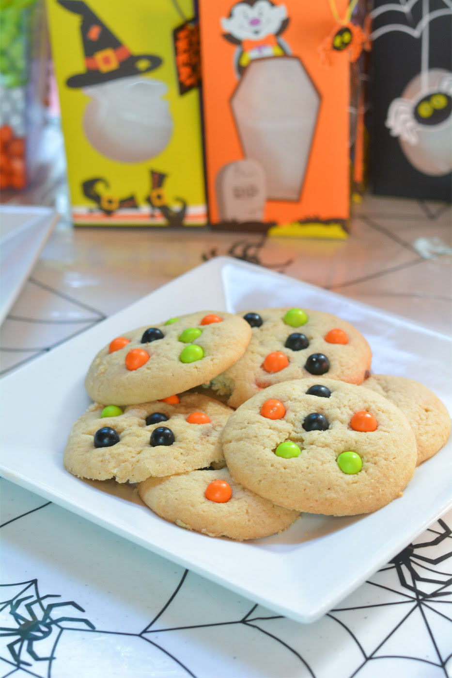 Spooky Monster Cookies - Mommy's Fabulous Finds