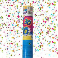 Konfetti Shooter 30. Geburtstag, 20 cm