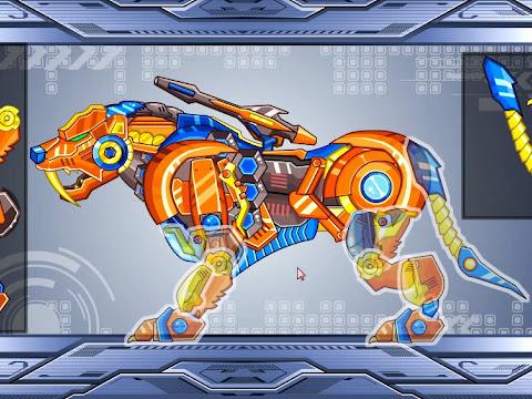 Chơi Game Trí Tuệ Xếp Hình   Game Lắp Ráp Robot Tiger   Chơi Game Vui 24h