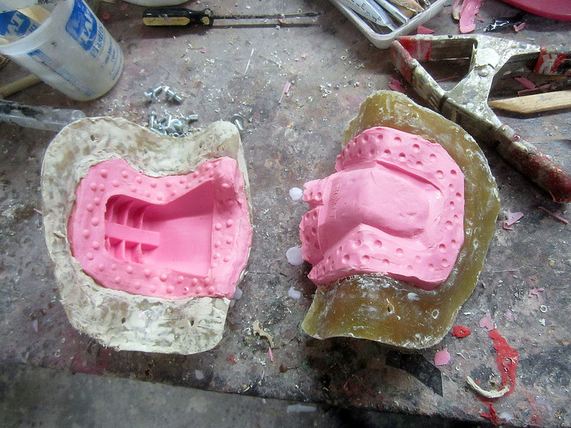 Sith Stalker Chin Mold Parts