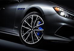Hybride technologie. Rasechte Maserati.