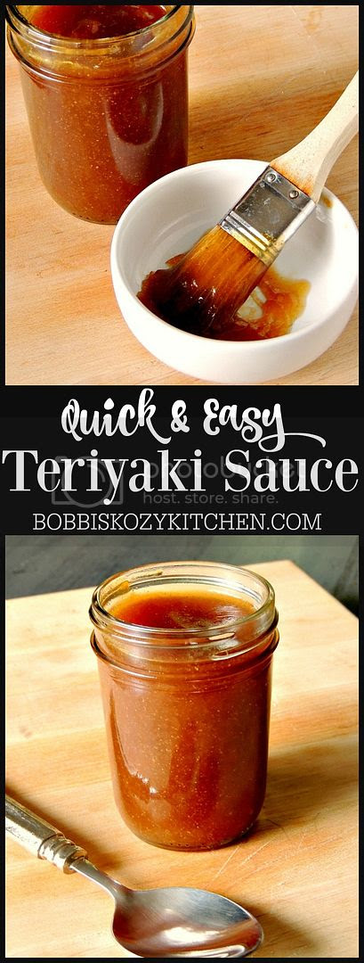 Quick and easy Teriyaki Sauce tastes just like your favorite restaurant version from www.bobbiskozykitchen.com