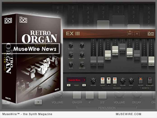 UVI Updates Retro Organ Suite to v1.5 with New Yamaha C10-inspired Virtual Instrument | MuseWire - the Synth Magazine
