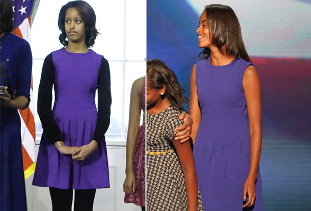 Malia, filha de Barack Obama (Foto: AFP)