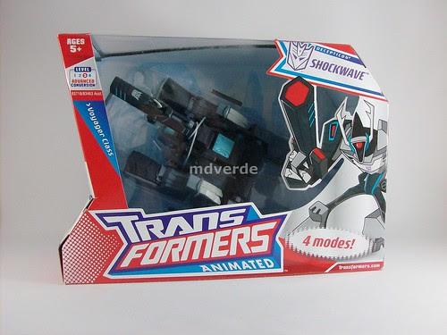 Transformers Shockwave Animated Voyager - caja