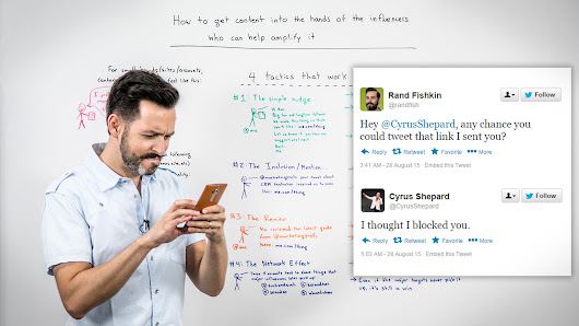 How to Get Content into the Hands of Influencers Who Can Help Amplify It - Whiteboard Friday