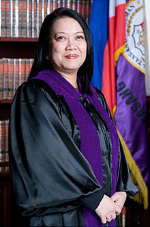 New Chief Justice Philippines 2012