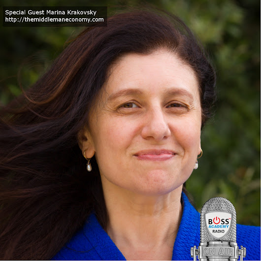 103 – Marina Krakovsky – The Middleman In Business Really Can Win