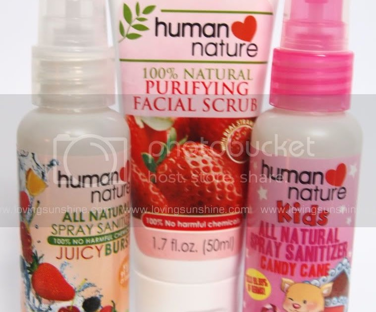 Human Nature Facial Products Review