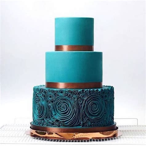 26 Teal and Copper Wedding Ideas to Hug, Fall # Teal