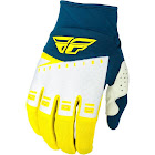 Fly Racing F-16 Gloves - Yellow/White/Navy