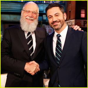 David Letterman Makes Late Night Return on 'Jimmy Kimmel Live' - Watch Here!