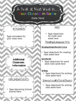 1000+ ideas about Newsletter Template Free on Pinterest | Parent ...