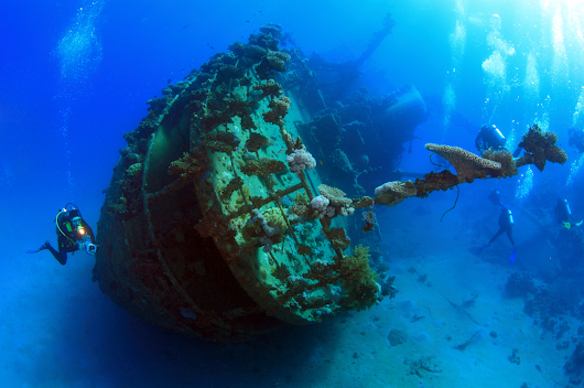5 Tips For Wreck Diving