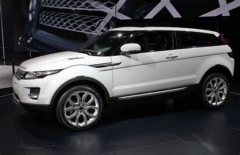 paris auto show  range rover evoque
