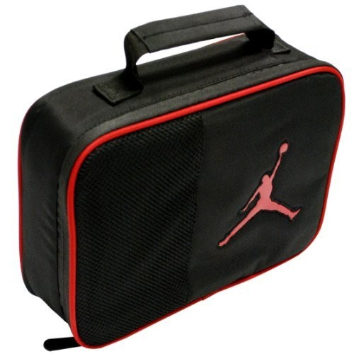 Lunch Box Jordan Boys Lunch Tote Black Red