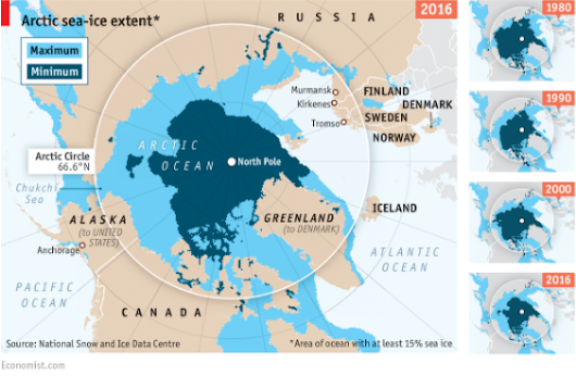 The Arctic could be ice free by 2040