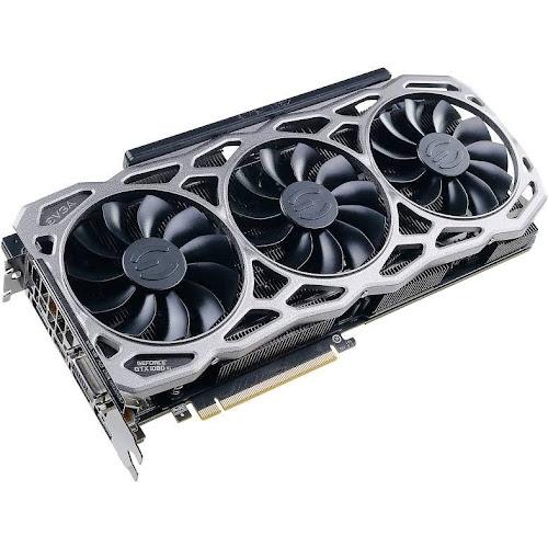 EVGA GeForce GTX 1080 Ti 0 Ti FTW3 GAMING Graphics Card - 11 GB GDDR5X -  352-bit - 1569 MHz