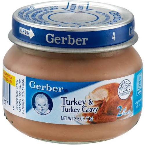 Gerber 2nd Foods Chicken And Chicken Gravy 25 Oz