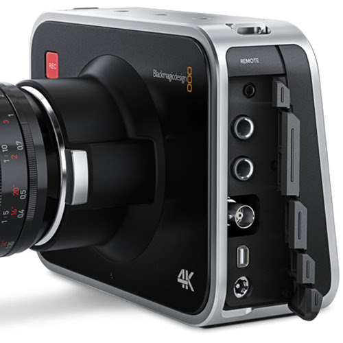 Blackmagic 4K camera drops to just over €2k